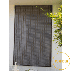 PVC blinds dark grey colour